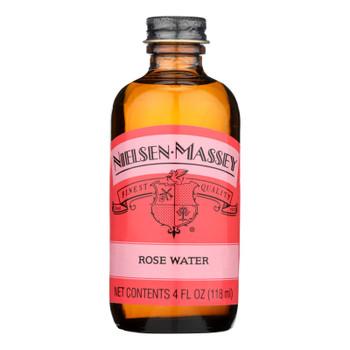 Nielsen Massey Rose Water  - Case Of 8 - 4 Fz