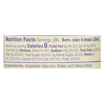 Nunatural Nustevia Dietary Supplement  - 1 Each - 2 Fz