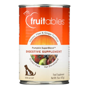 Fruitables Digestive Supplement  - Case Of 12 - 15 Oz