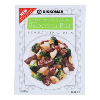 Kikkoman, Broccoli-beef Stir-fry Seasoning Mix - Case Of 12 - 1 Oz