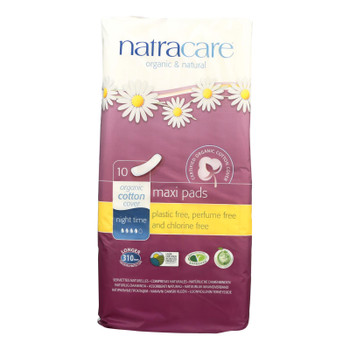 Natracare Natural Pads  - Case Of 12 - 10 Ct