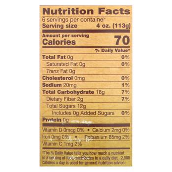 North Coast Organic Apple Sauce  - Case Of 12 - 24 Fz