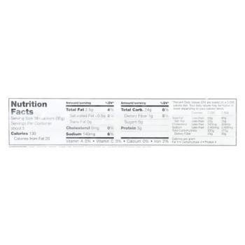 Sesmark Foods Savory Rice Thins - Original - Case Of 12 - 3.2 Oz.