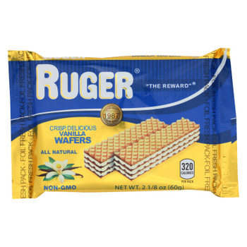 Ruger Vanilla Wafers  - Case Of 12 - 2.125 Oz
