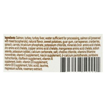 Halo, Purely For Pets, Indoor Cats Grain Free Salmon  - Case Of 12 - 5.5 Oz