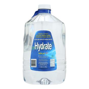 Hydrate - Water Alkaline Ionized - Case Of 4 - 1 Gal