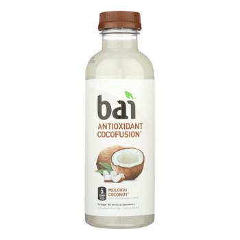 Bai® Molokai Coconut Antioxidant Beverage, Molokai Coconut - Case Of 12 - 18 Fz