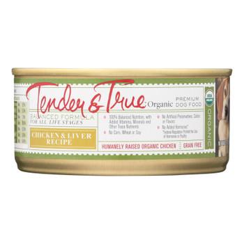 Tender & True Dog Food, Chicken And Liver - Case Of 24 - 5 Oz