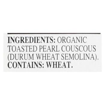 Riceselect Couscous, Pearl, Plain Organic  - Case Of 4 - 24.5 Oz