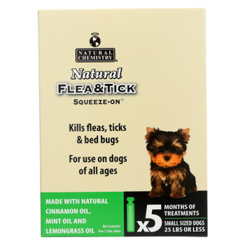 Natural Chemistry Natural Flea & Tick Squeeze-on For Small Dogs  - 1 Each - 7.5 Ml