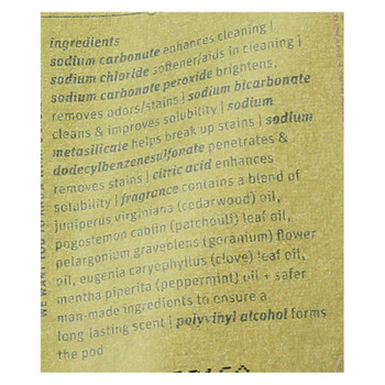 Stoneworks Olive Leaf Laundry Detergent Pods  - Case Of 6 - 50 Ct