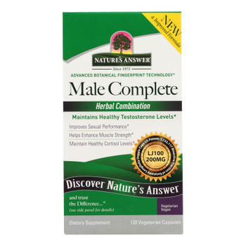 Nature's Answer - Male Complete - 1 Each - 120 Vcap
