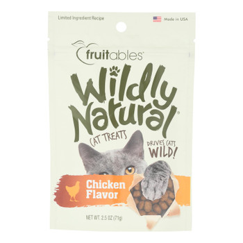 Fruitables - Cat Trts Chicken Natural - Case Of 12 - 2.5 Oz