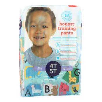 The Honest Company - Training Pants Abc 4t-5t - 1 Each - 19 Ct