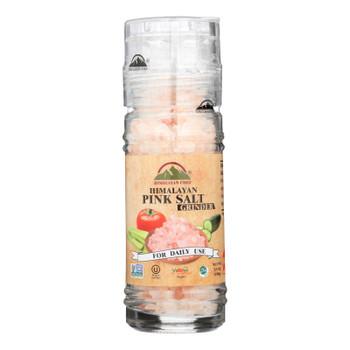 Himalayan Chef Himalayan Pink Salt Grinder  - Case Of 6 - 3.5 Oz