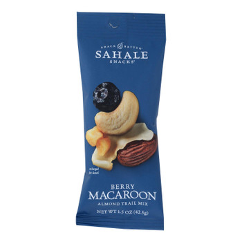Sahale Berry Macaroon Almond Trail Mix  - Case Of 9 - 1.5 Oz