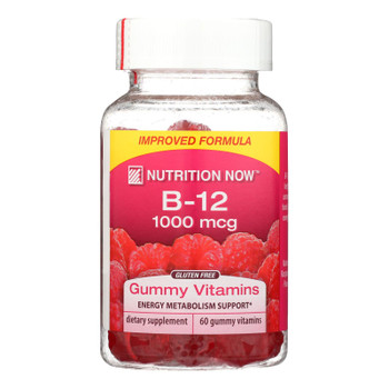 Nutrition Now - Vitamin B-12 Gummy Chew - 1 Each - 60 Ct