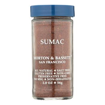 Morton & Bassett All Natural Sumac  - Case Of 3 - 2 Oz