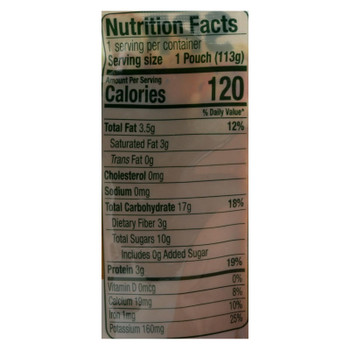 Sprout Foods Inc - Baby Food Pmpkin Apple Cinnamon - Case Of 6 - 4 Oz