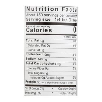 Jane's Krazy Seasonings Mixed-up Chunky Garlic Seasoning  - Case Of 12 - 4.75 Oz