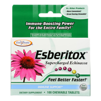Enzymatic Therapy Esberitox Supercharged Echinacea Dietary Supplement  - 1 Each - 100 Tab