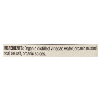 Natural Value Stoneground Mustard - Case Of 12 - 9 Oz