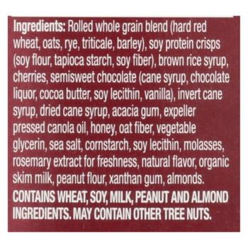 Kashi Cherry Dark Chocolate Granola Bars  - Case Of 8 - 6/1.2 Oz