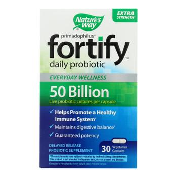 Nature's Way 50 Billion Probiotic Supplement  - 1 Each - 30 Vcap