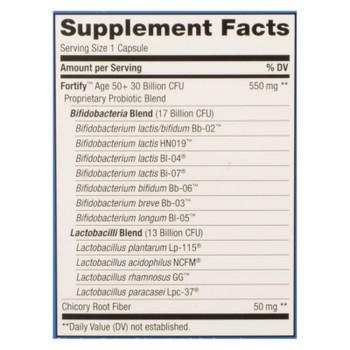 Nature's Way 30 Billion Age 50+ Probiotic Supplement  - 1 Each - 30 Vcap