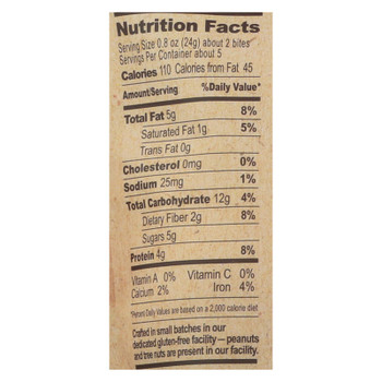 The Gfb Dark Chocolate Peanut Butter Bites  - Case Of 6 - 4 Oz