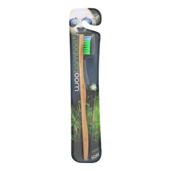 Woobamboo! Adult Soft Toothbrushes  - Case Of 6 - Ct