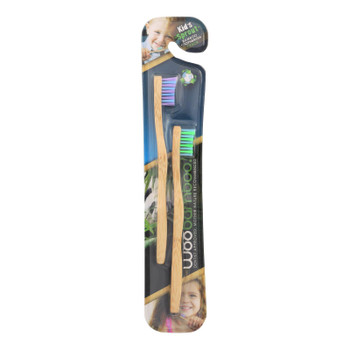 Woobamboo! Kids Sprout Toothbrush  - Case Of 6 - 2 Ct