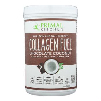 Primal Kitchen Collagen Fuel Chocolate Coconut Drink Mix - 1 Each - 13.9 Oz