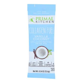 Primal Kitchen Vanilla Coconut Collagen Peptide Drink Mix, Vanilla Coconut - Case Of 12 - .54 Oz