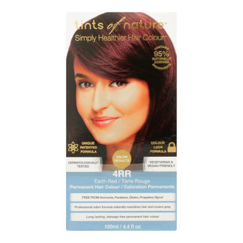 Tints Of Nature 4rr Earth Red Hair Color  - 1 Each - 4.4 Fz