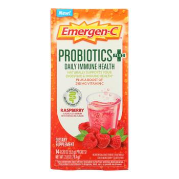 Emergen-c - Probiotics Immune Raspbry - 1 Each - 14 Ct