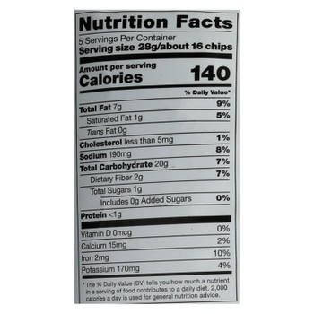 Cassava Crunch Plant Snacks, Beef With Goat Cheese  - Case Of 12 - 5 Oz