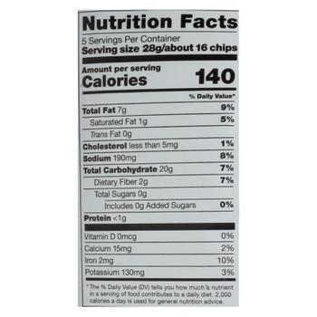 Cassava Crunch Plant Snacks, Cheddar  - Case Of 12 - 5 Oz