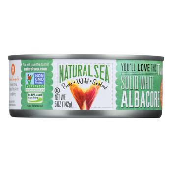 Natural Sea Wild Albacore Tuna, Unsalted, Solid White - 1 Each 1 - 5 Oz