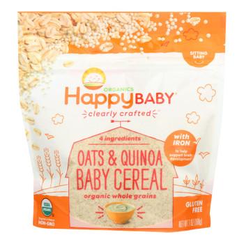 Happy Baby - Cereal Oats Quinoa - Case Of 6 - 7 Oz