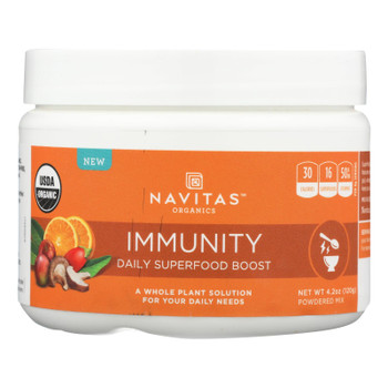 Navitas Naturals - Daily Boost Immunity - Case Of 6 - 4.2 Oz