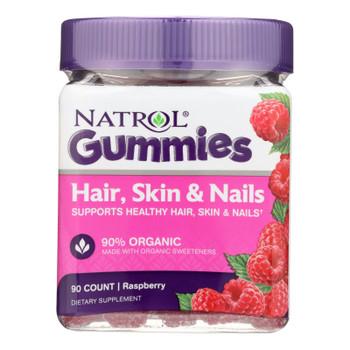 Natrol - Hair Skin Nails Gumms - 1 Each - 90 Ct