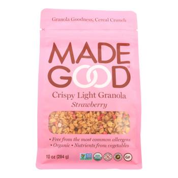 Made Good - Granola Crispy Strawberry - Case Of 8 - 10.0 Oz