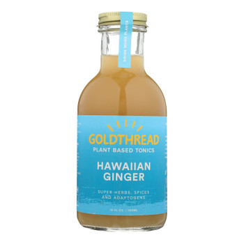 Goldthread Hawaiian Ginger Herbal Tonic  - Case Of 6 - 12 Fz