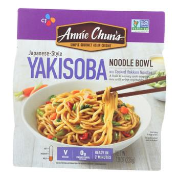 Annie Chun's Japanese-style Yakisoba Noodle Bowl - Case Of 6 - 7.9 Oz