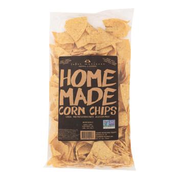 Sabor Mexicano - Chips Corn Original Hmade - Case Of 11-12 Oz
