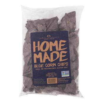 Sabor Mexicano - Chips Corn Blue Hmade - Case Of 11-12 Oz