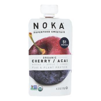 Noka - Smoothie Cherry Acai - Case Of 6 - 4.22 Oz