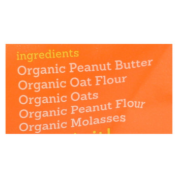 Riley's Organics Organic Dog Treats, Peanut Butter & Molasses Recipe, Small  - Case Of 6 - 5 Oz