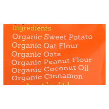 Riley's Organics Organic Dog Treats, Sweet Potato Recipe, Small  - Case Of 6 - 5 Oz